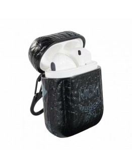 MCM AirPods Case Protective Cover Black