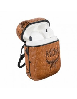 MCM AirPods Case Protective Cover Brown