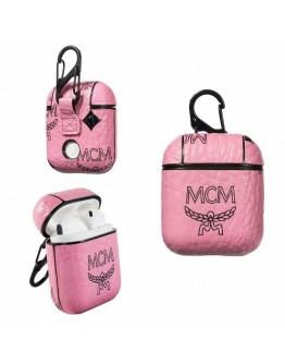 MCM AirPods Case Protective Cover Pink