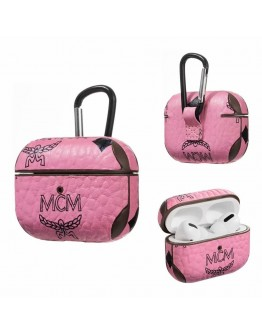 MCM AirPods Pro Case Protective Cover Pink