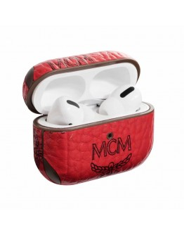 MCM AirPods Pro Case Protective Cover Red