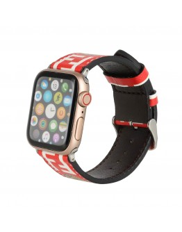 Fendi Apple Watch Bands Strap Red