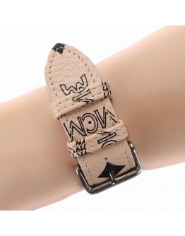 MCM Apple Watch Bands Strap Apricot