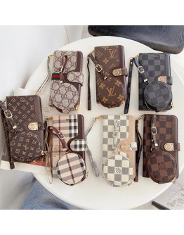 Louis Vuitton Gucci Burberry iPhone Wallet Case AirPod Carrying Bag