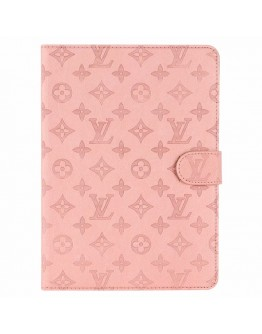 Louis Vuitton iPad Cases Embossing Pink