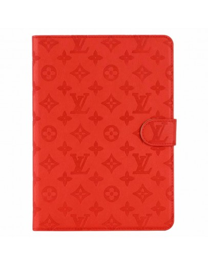 Louis Vuitton iPad Cases Embossing Red