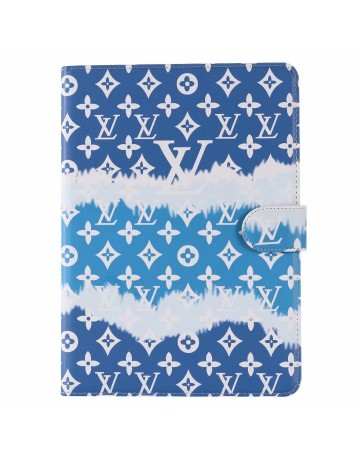 Louis Vuitton iPad Cases Beach waves Pink Blue Red
