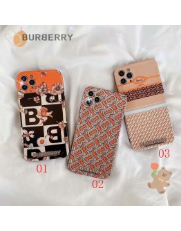 Burberry iPhone 11 12 13 Pro Max Case Cover