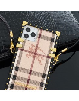 Burberry Square Phone Case Eye Trunk Covers For iPhone