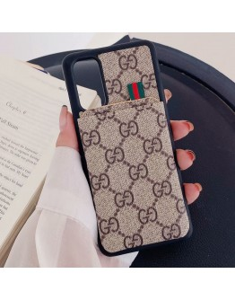 Gucci Galaxy S20 S21 Series Case Card Holder Wallet Pocket