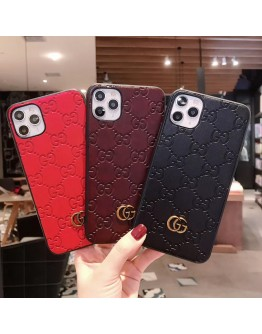 Designer Gucci iPhone Case Embossing Skin GG Covers