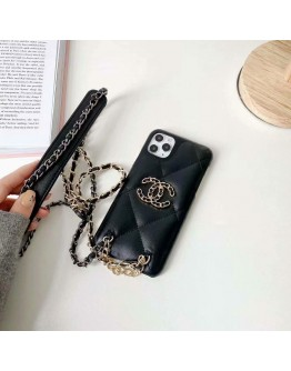 Luxury Chanel iPhone XR XS 11 12 13 Pro Max Cases