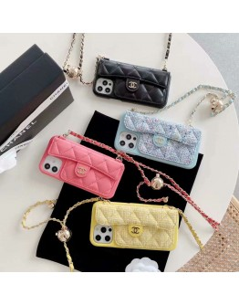 Chanel iPhone 11 12 13 Pro Max Case