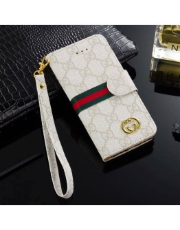 Gucci Louis Vuitton Burberry iPhone Wallet Case Stand Cover